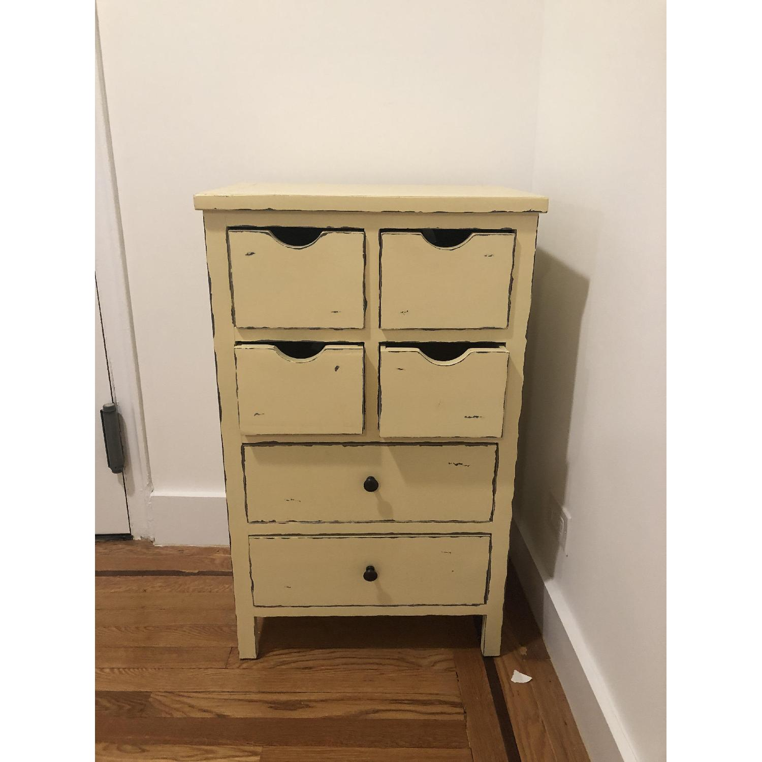 Distressed Yellow Small Dresser - image-2