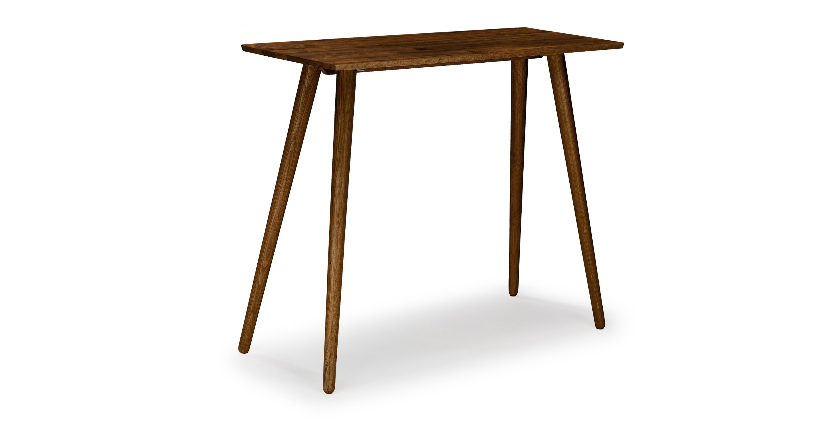 Article Seno Walnut Rectangular Bar Table