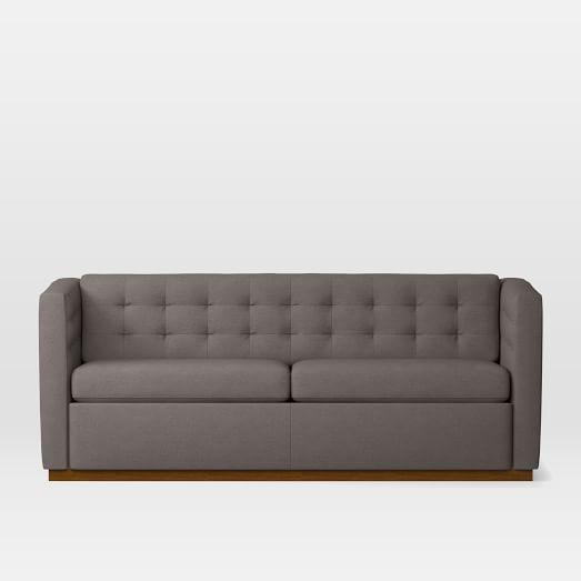 West Elm Grey Rochester Sofa