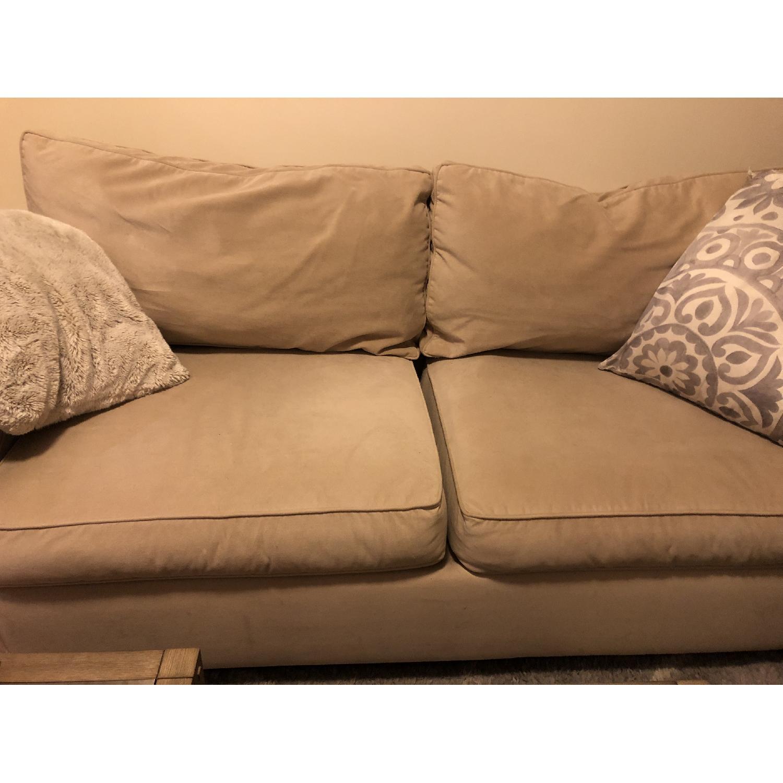 Pottery Barn Buchanan Square Arm Sofa - image-3