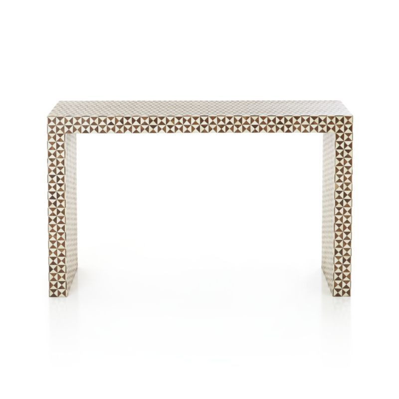 Crate & Barrel Moroccan Style Console Table