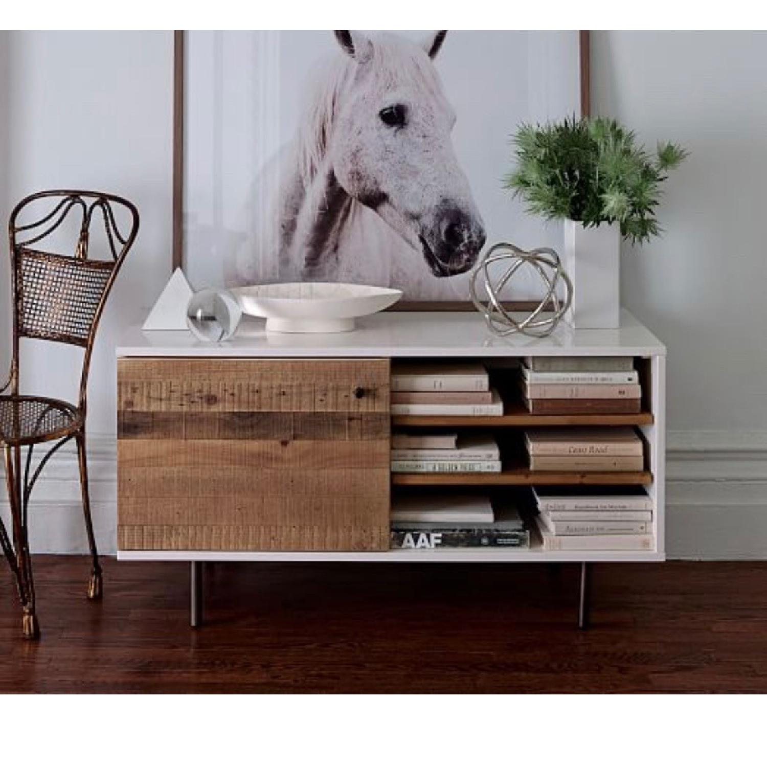 West Elm Reclaimed Wood & Lacquer Media Console - image-3
