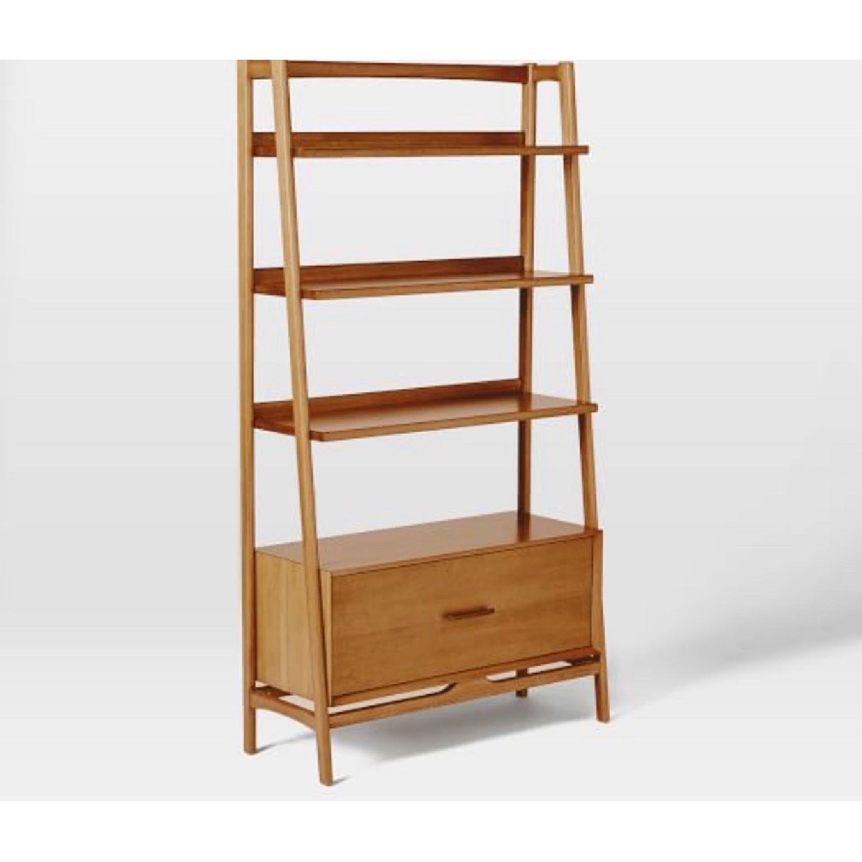 West Elm Mid Century Bookshelf - image-1
