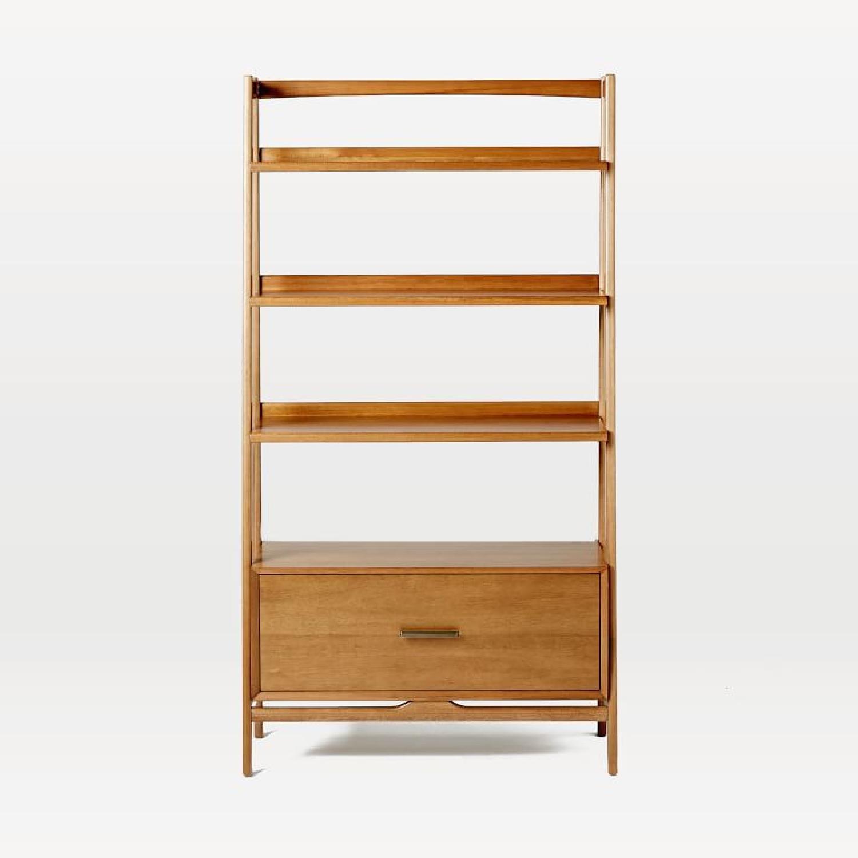 West Elm Mid Century Bookshelf - image-4