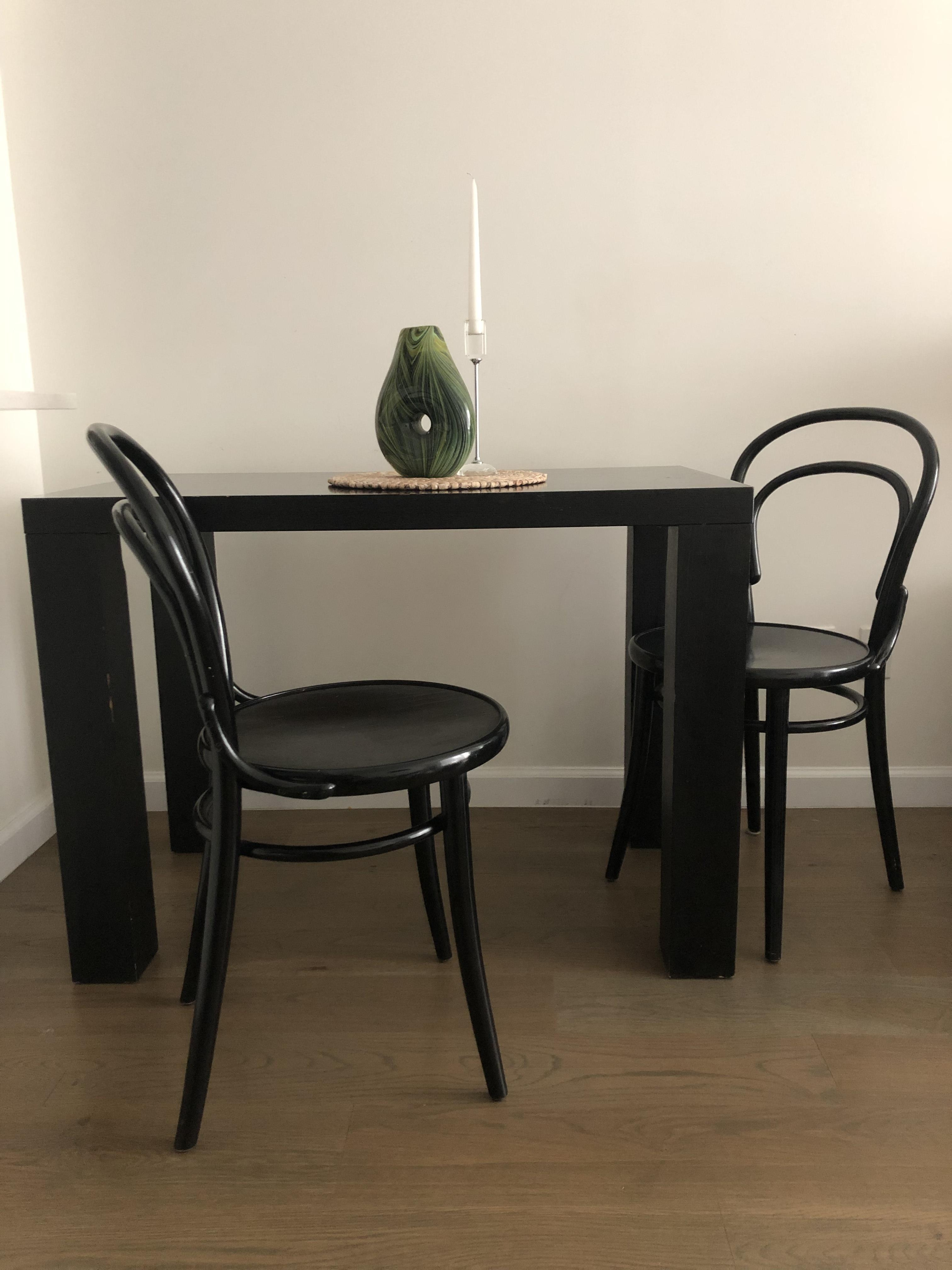 BoConcept Black Dining Table