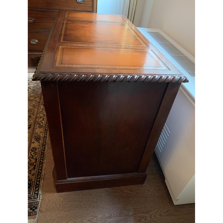 Leather Top Mahogany Desk - image-4