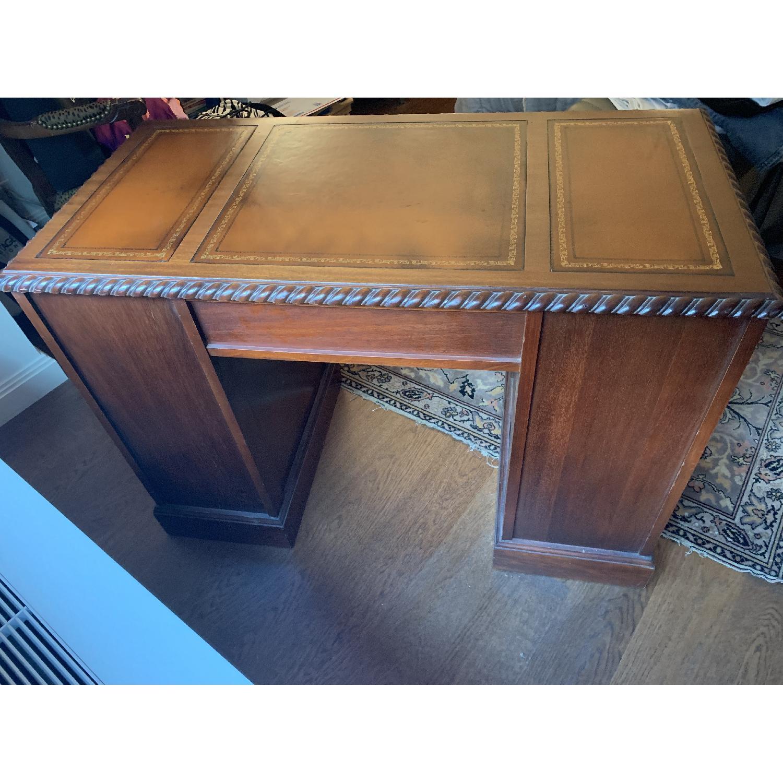 Leather Top Mahogany Desk - image-3