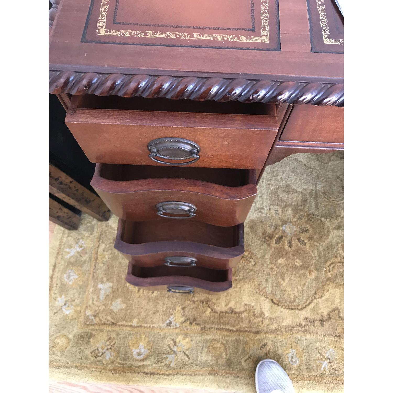 Leather Top Mahogany Desk - image-7