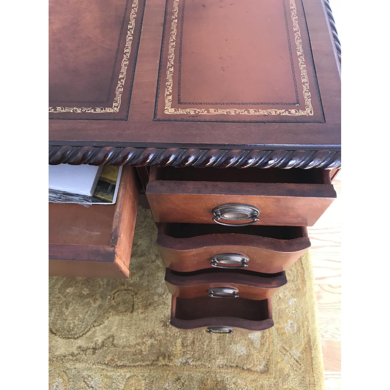 Leather Top Mahogany Desk - image-6