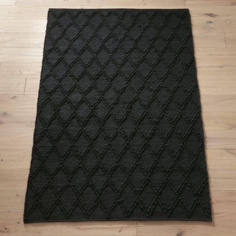 CB2 Carat Black Jute Rug - image-5