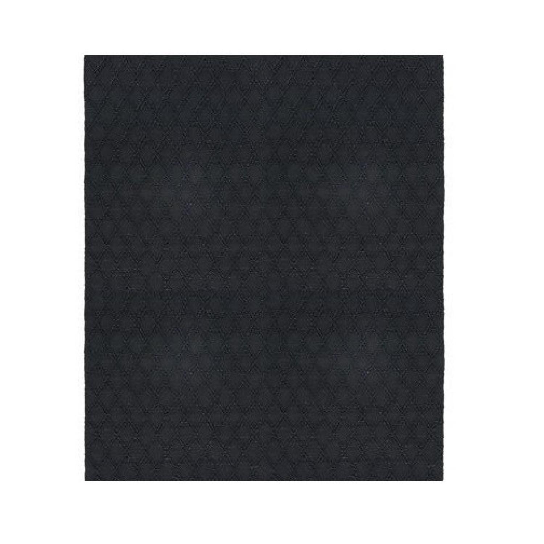 CB2 Carat Black Jute Rug - image-0