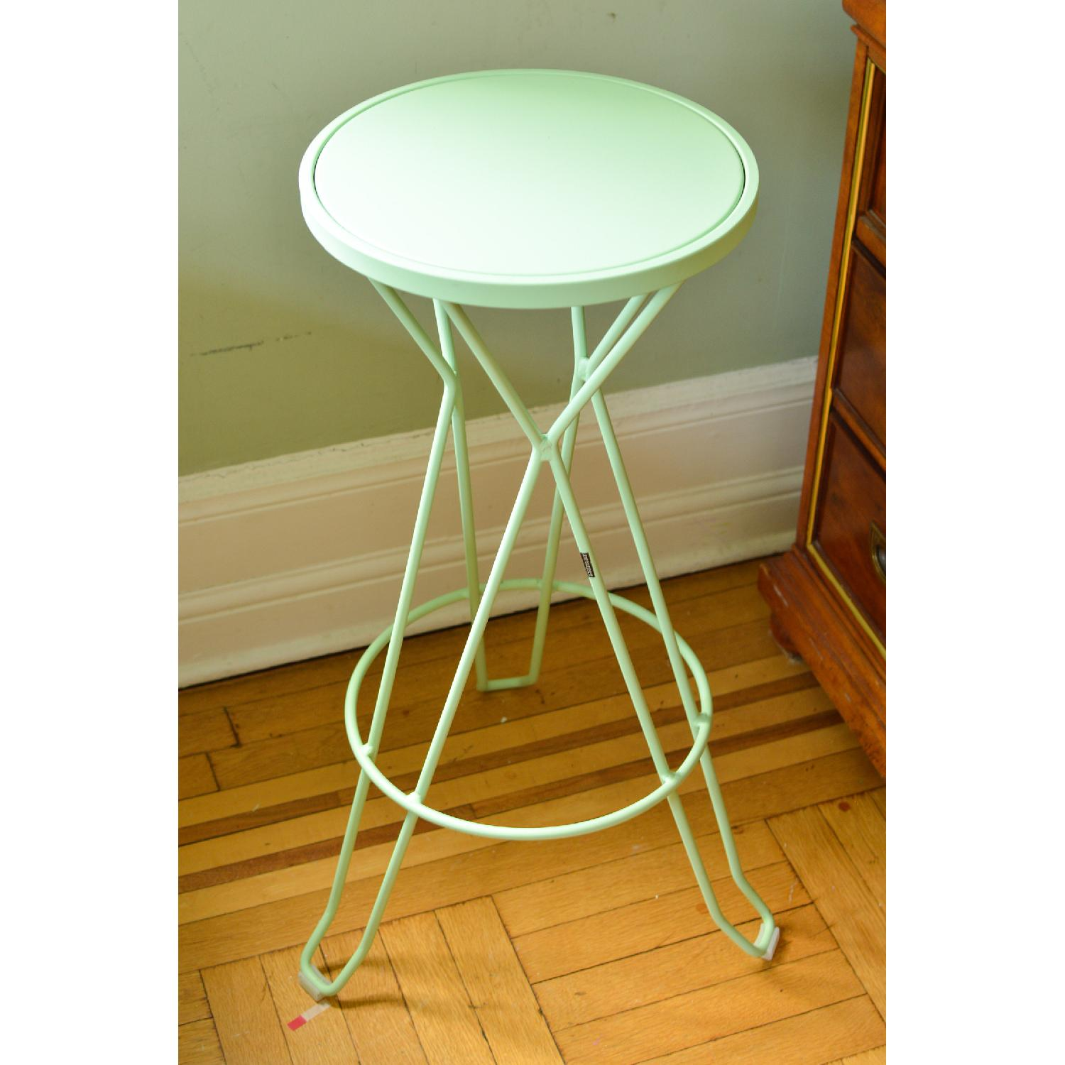 iSiMAR Madrid Galvanized Steel Bar Stool - image-0