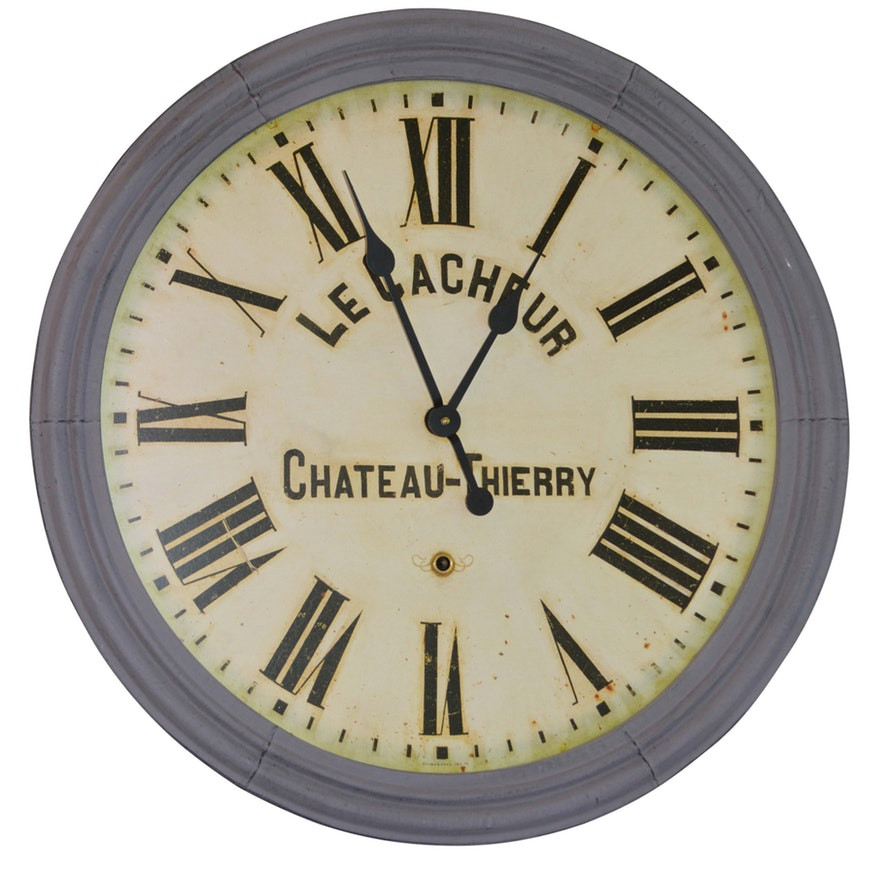 Restoration Hardware Chateau-Thierry Clock