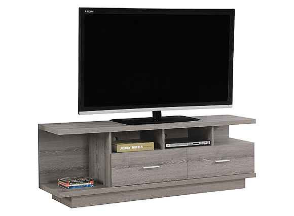 Raymour & Flanigan Modern Wooden TV Console