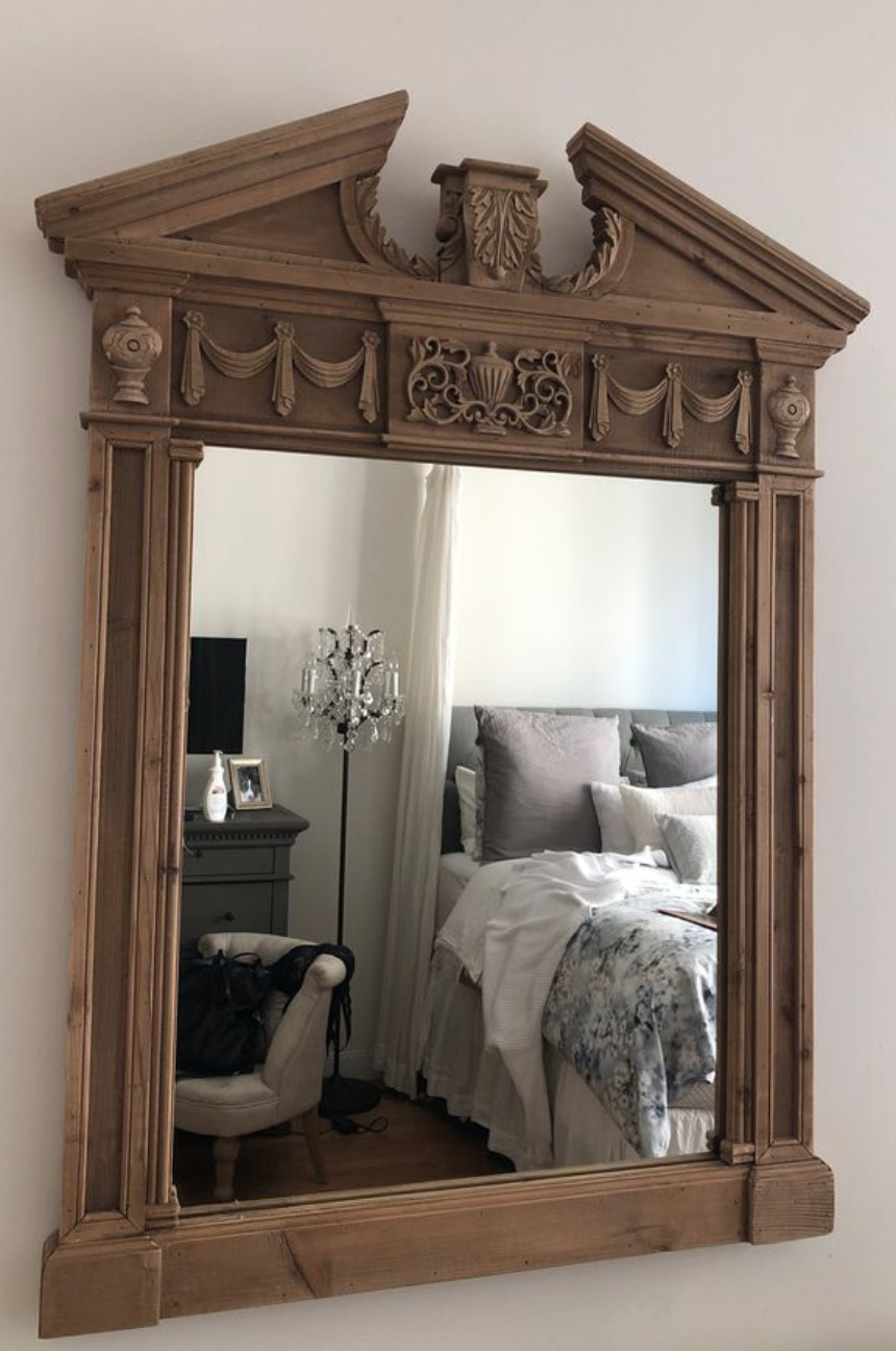 Restoration Hardware Entablature Mirror
