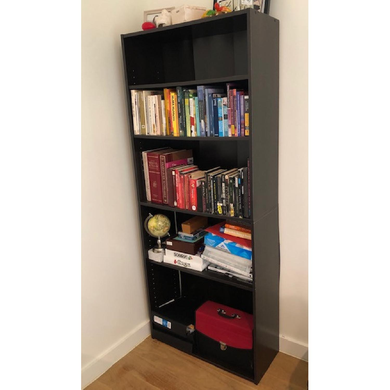 Closet Maid Dark Wood Bookcase - image-1