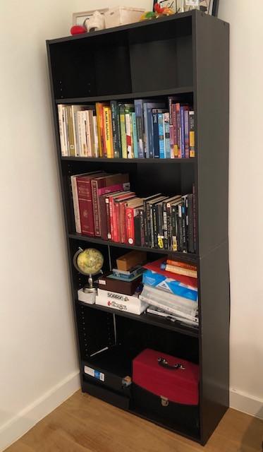Closet Maid Dark Wood Bookcase