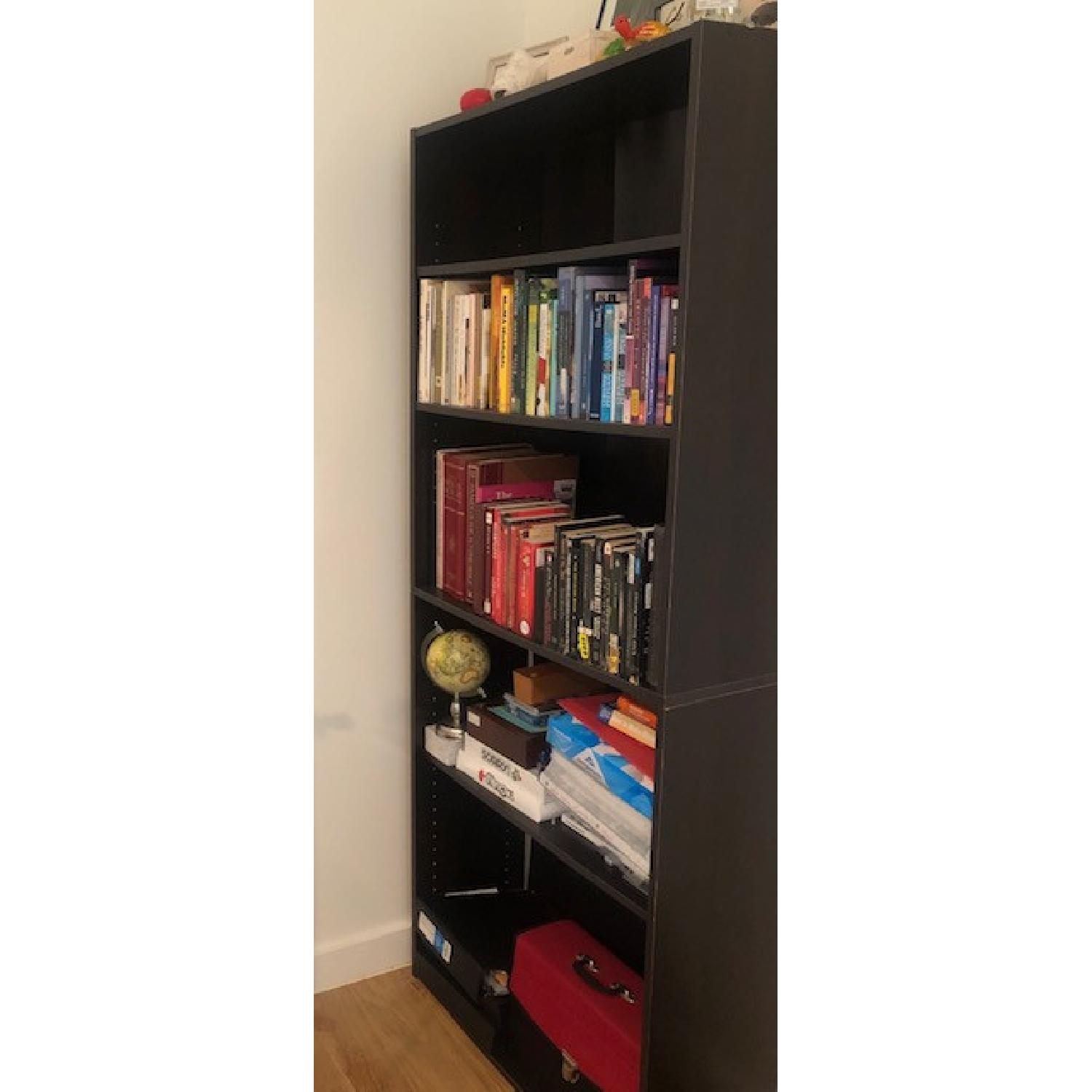 Closet Maid Dark Wood Bookcase - image-2