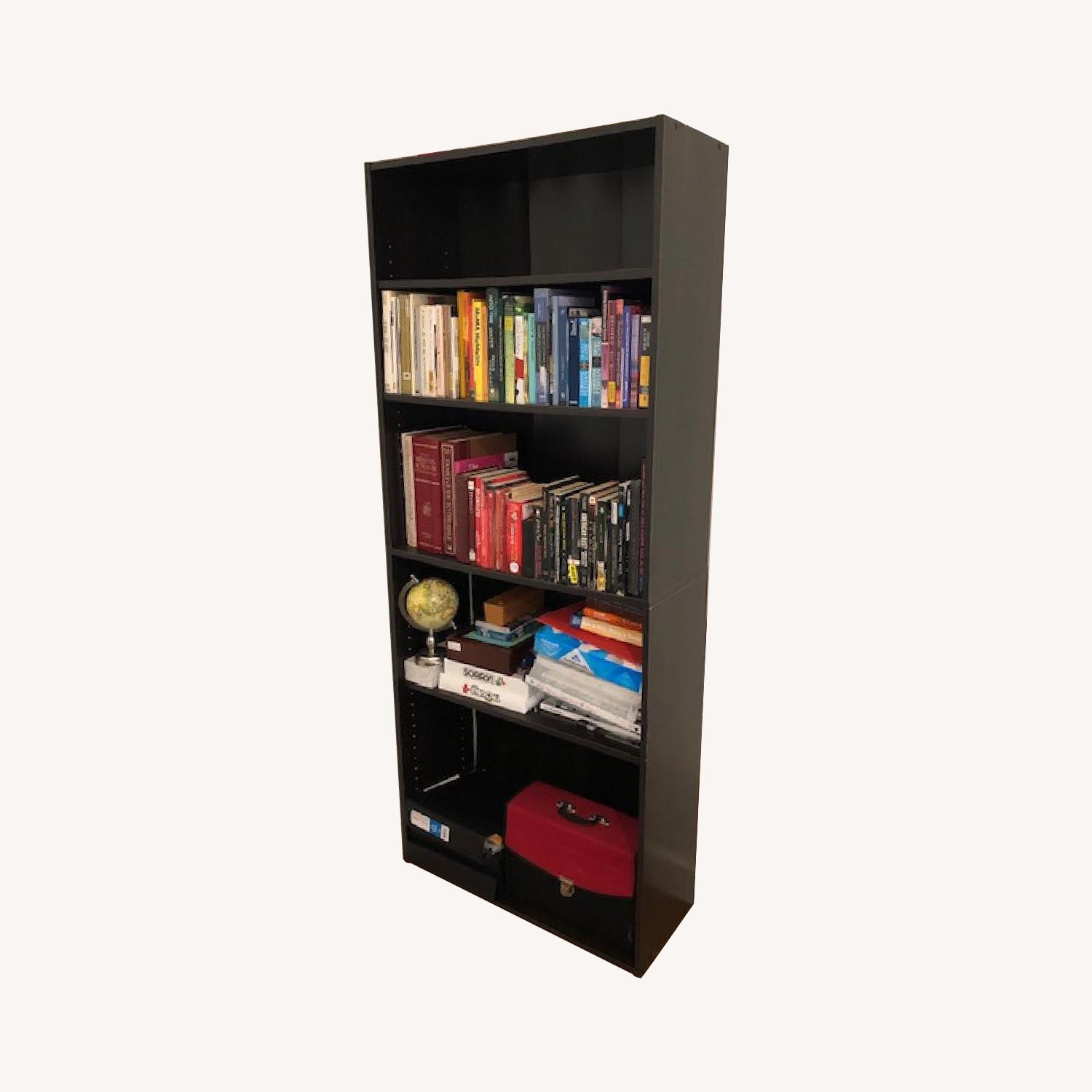 Closet Maid Dark Wood Bookcase - image-0