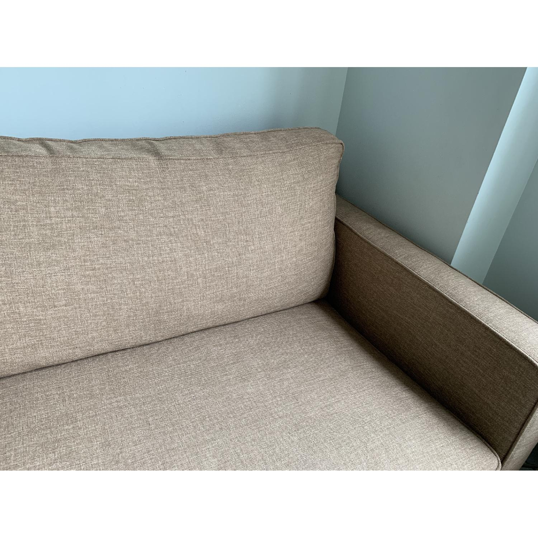 Crate & Barrel Davis Twin Sleeper Sofa - image-2