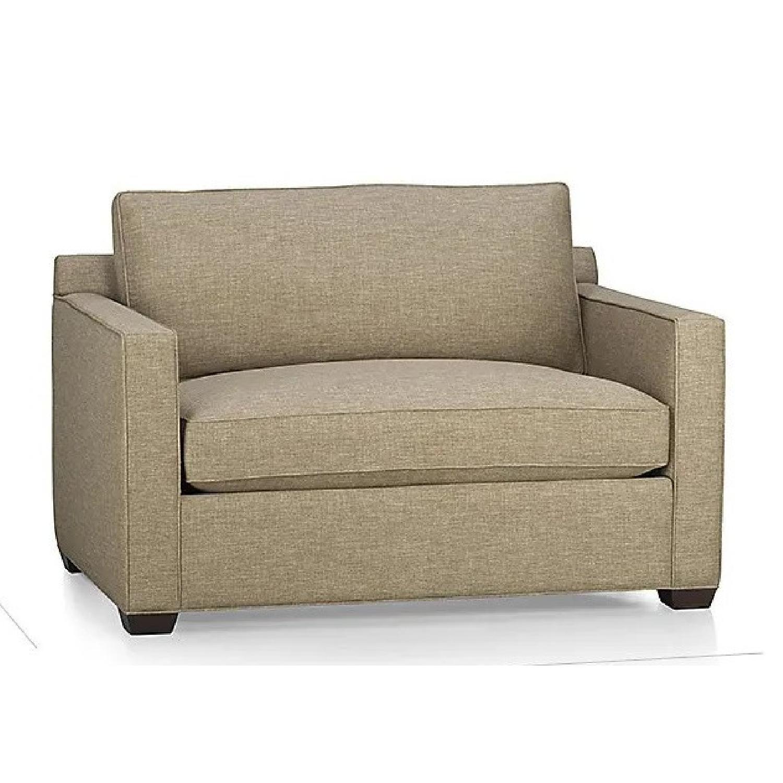 Crate & Barrel Davis Twin Sleeper Sofa - image-0