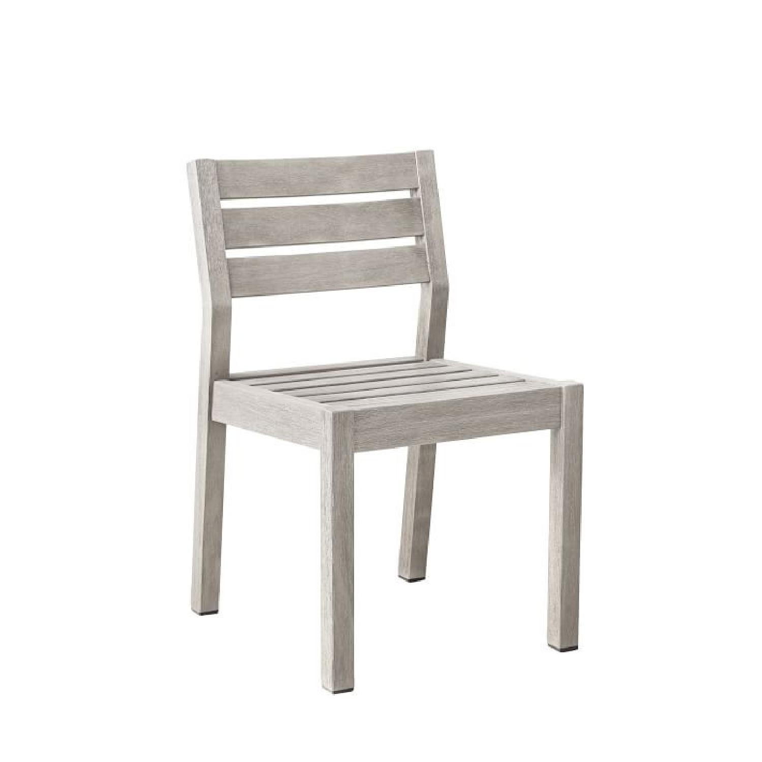 West Elm Portside Dining Chair in Weathered Gray - image-0