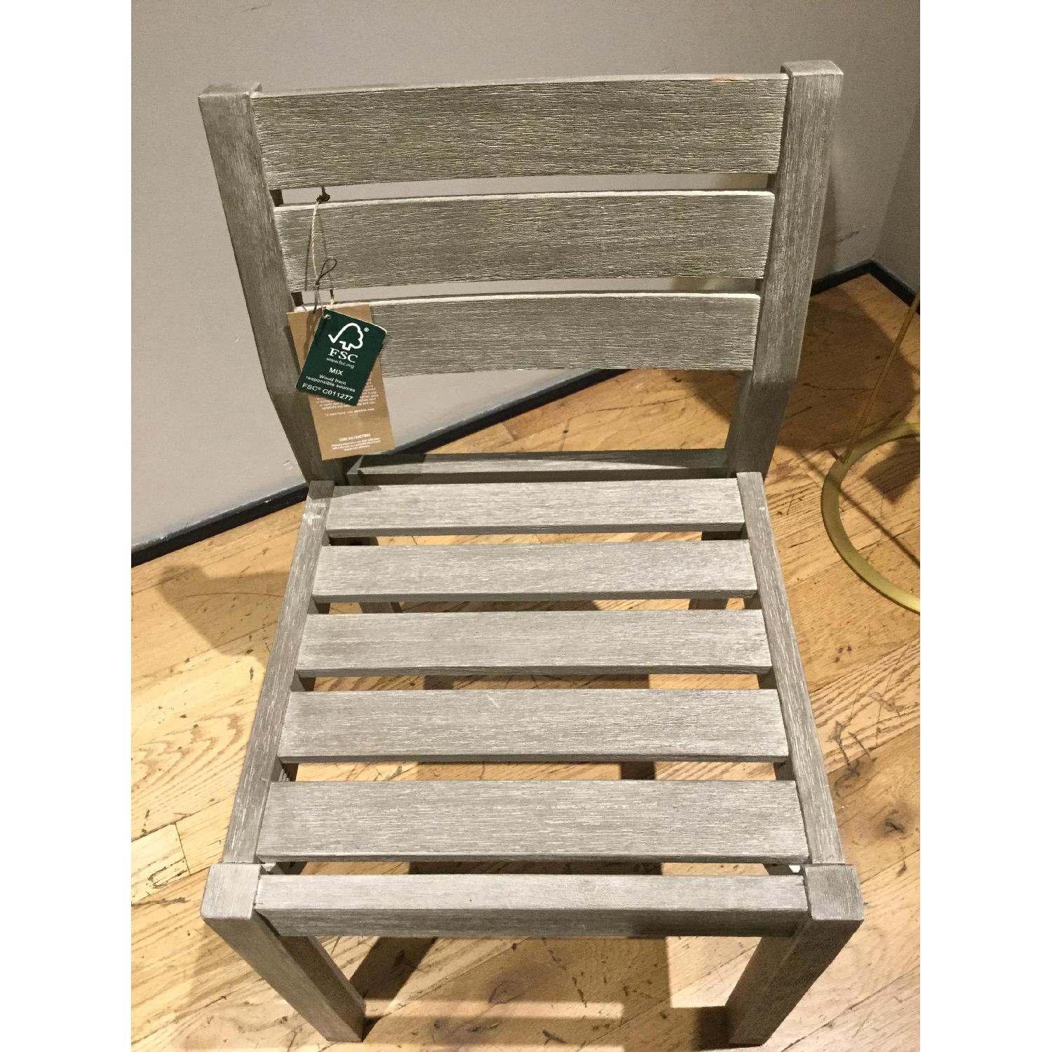 West Elm Portside Dining Chair in Weathered Gray - image-4
