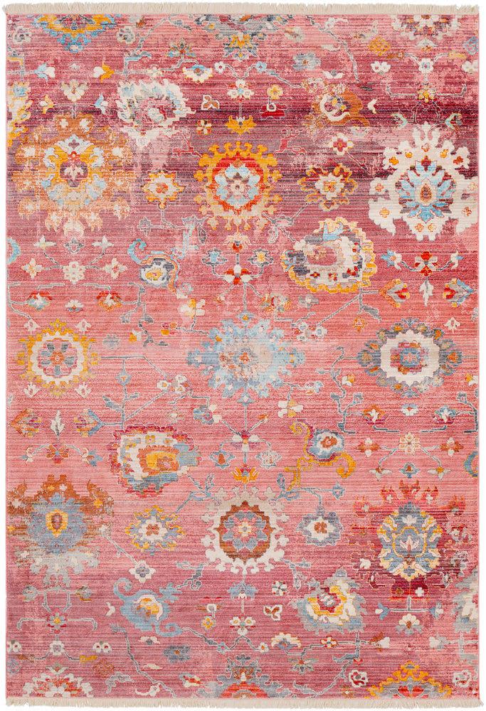Surya Ephesians Multicolor Pink Area Rug
