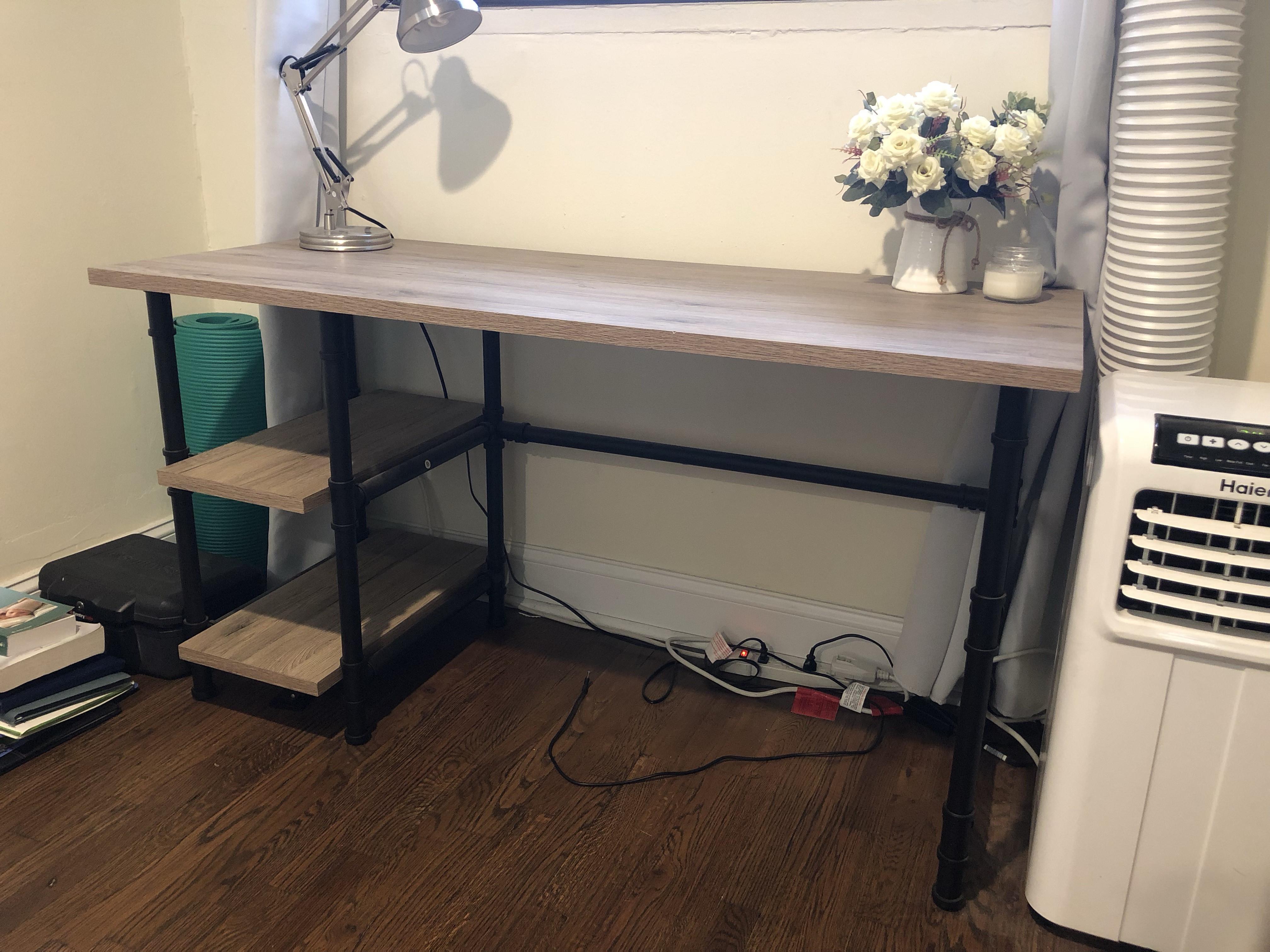 Mercury Row Buelow Modern Industrial Desk