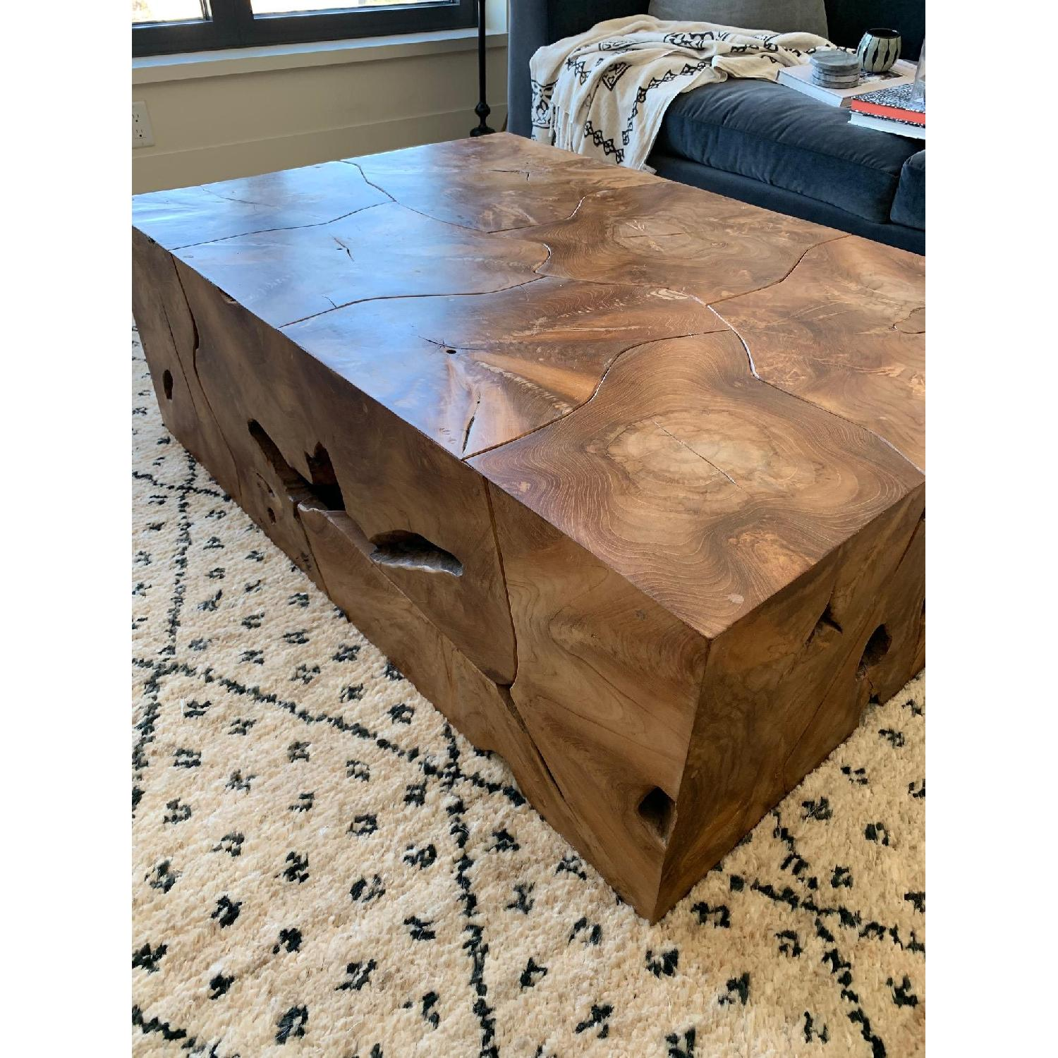 Phillips Collection Teak Slice Coffee Table - image-2
