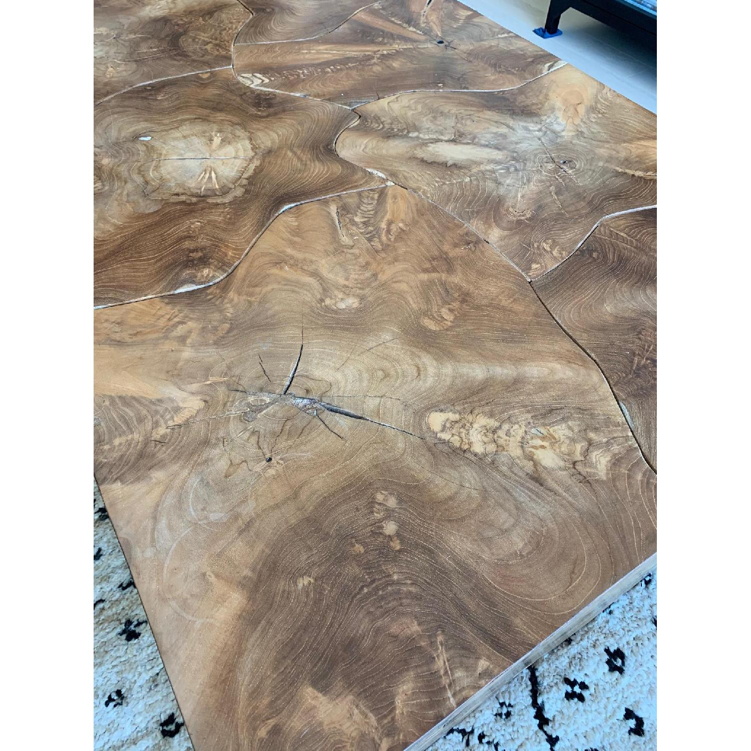 Phillips Collection Teak Slice Coffee Table - image-3