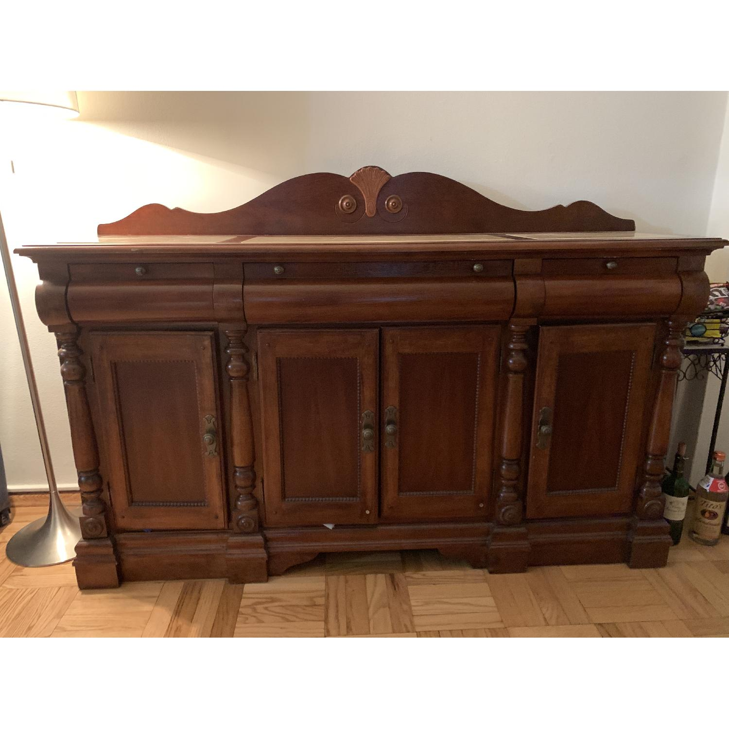 Thomasville Sideboard w/ Marble Top - image-1