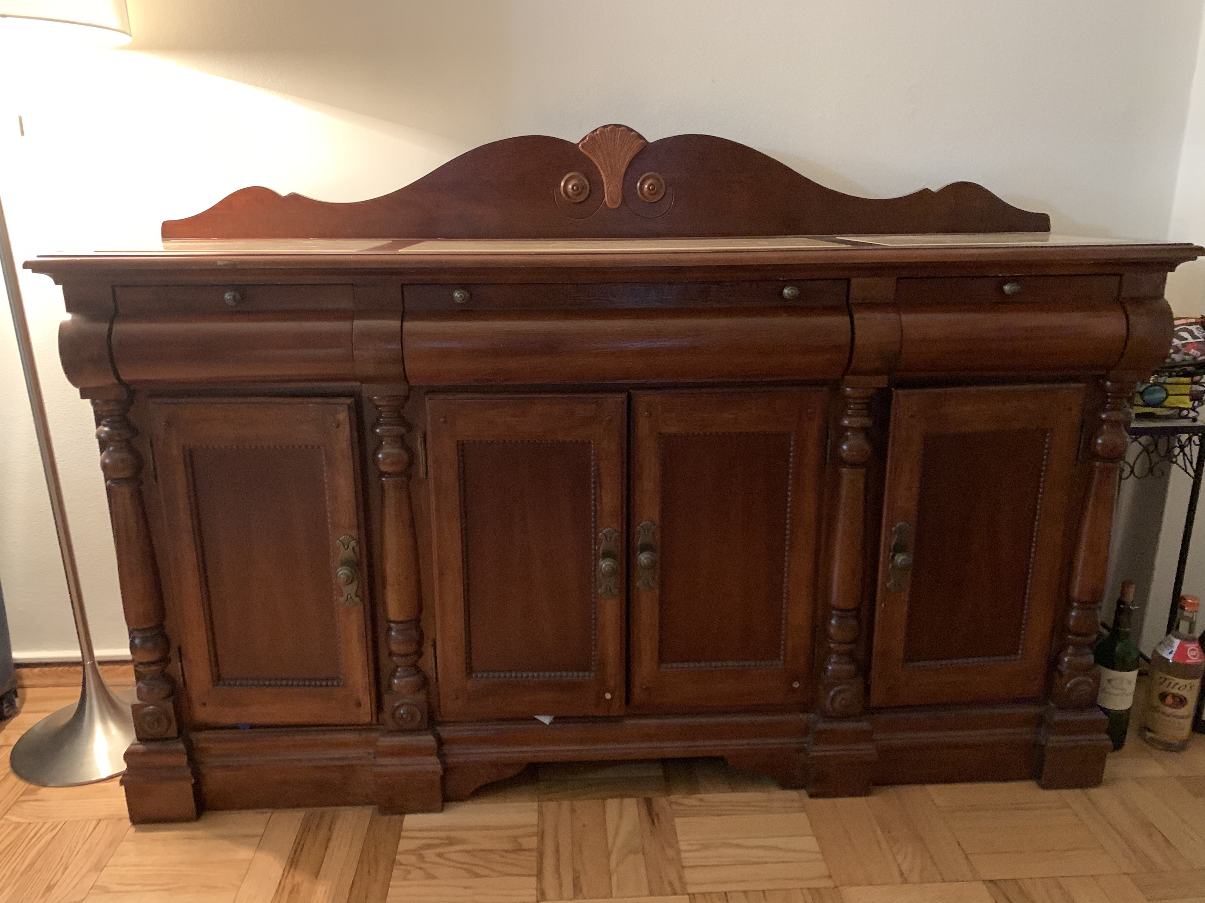Thomasville Sideboard w/ Marble Top