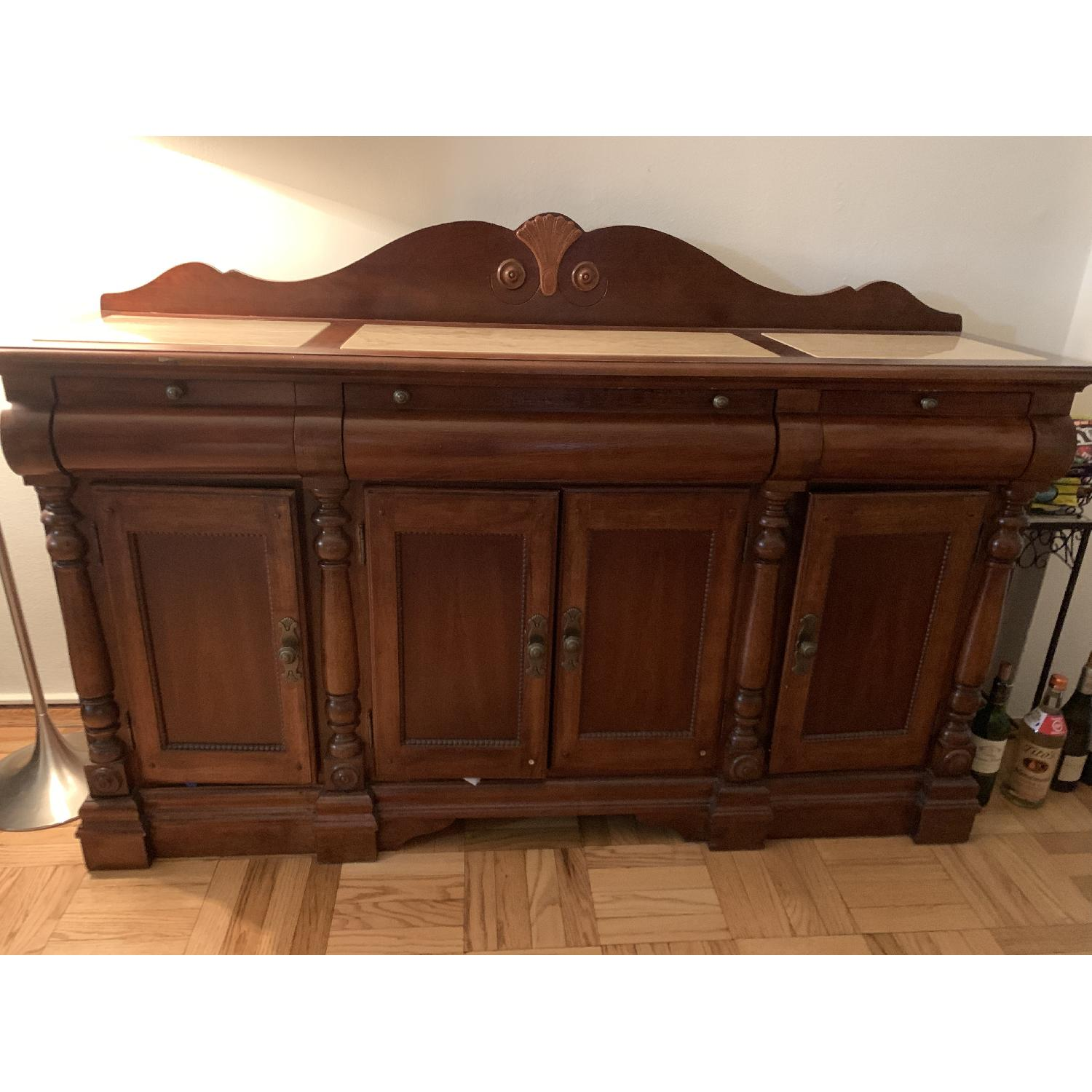 Thomasville Sideboard w/ Marble Top - image-2