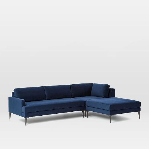 West Elm Andes 2-Piece Sectional Sofa