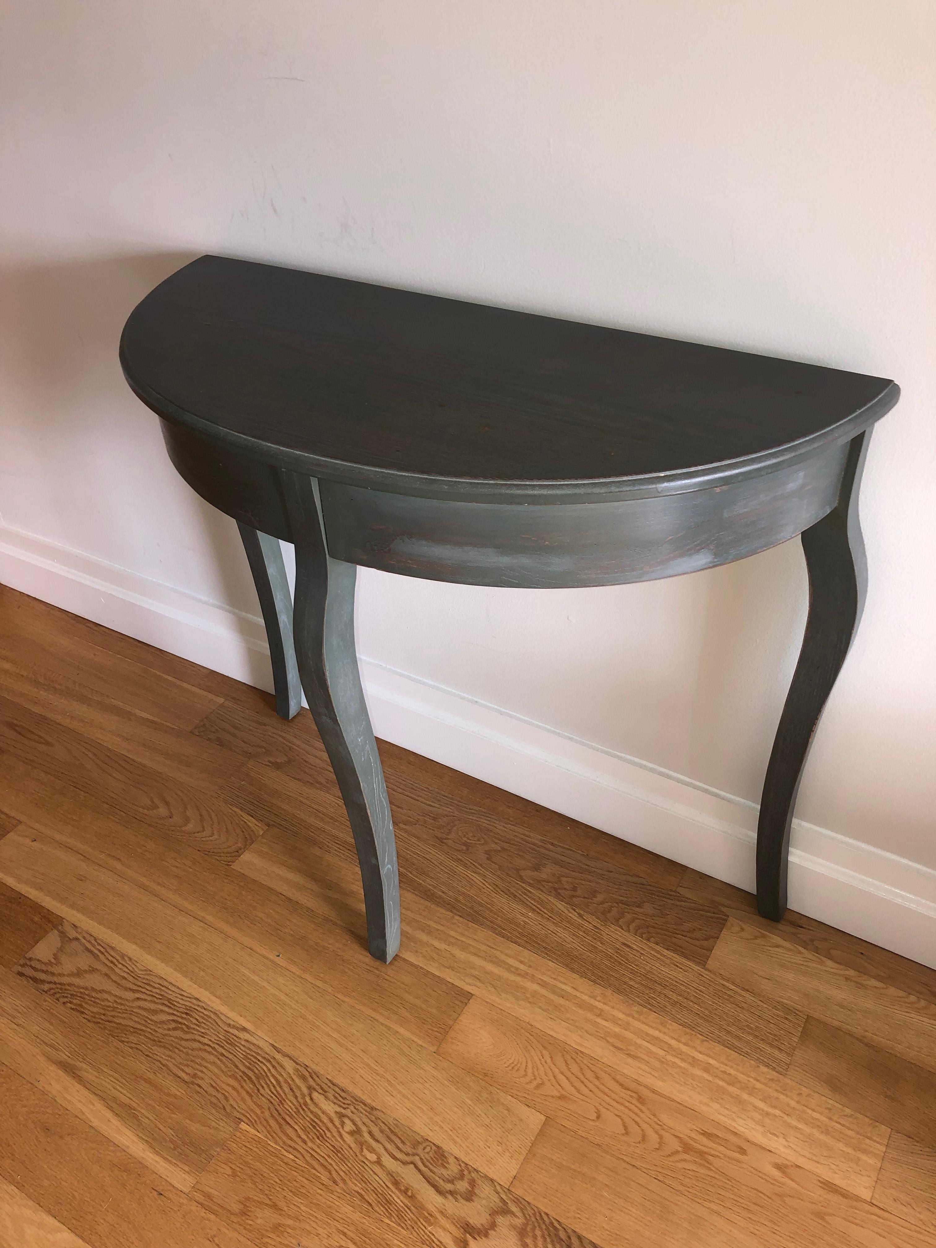 Semi Circle Side Table