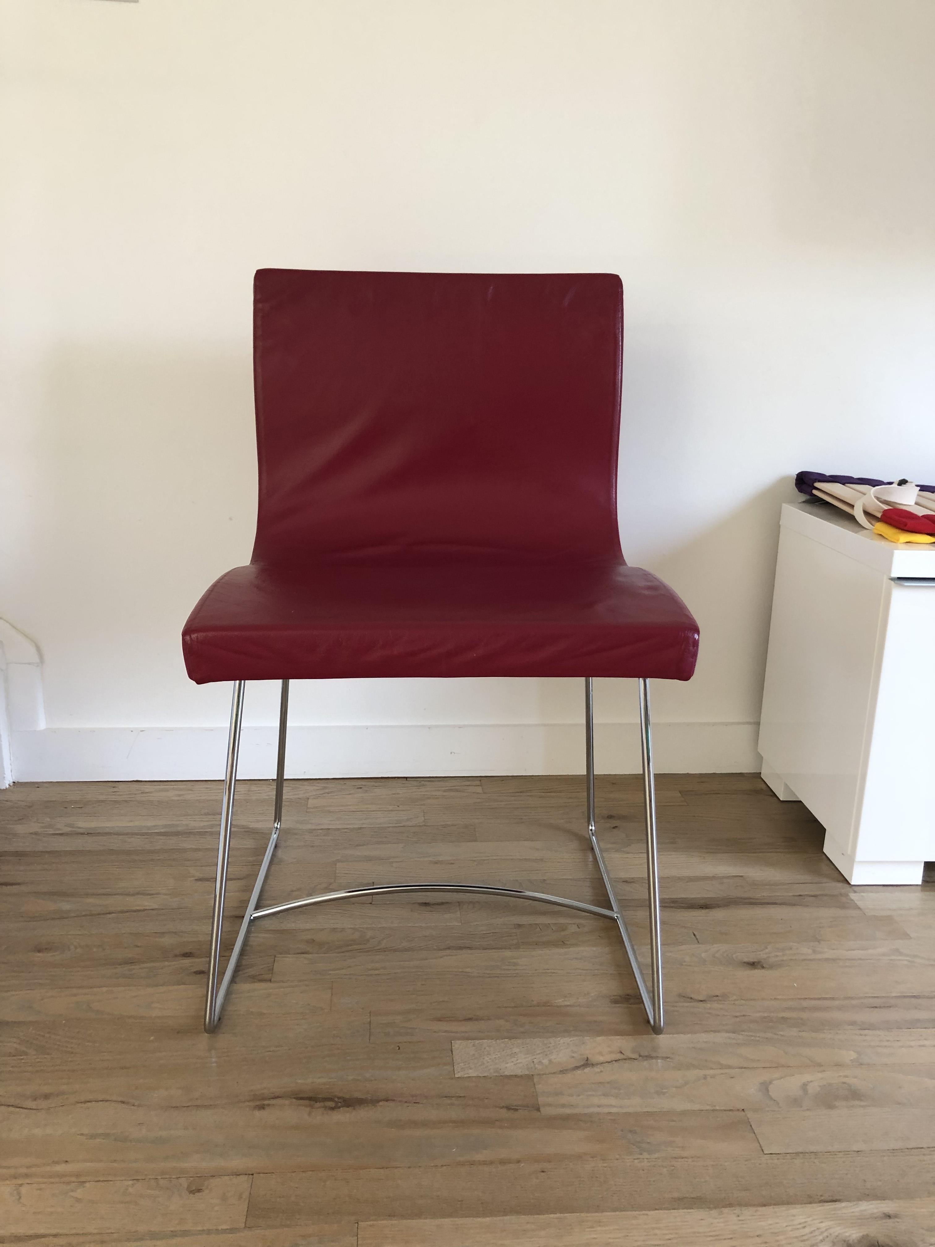 Ligne Roset Pavot Salsa Dining Chairs