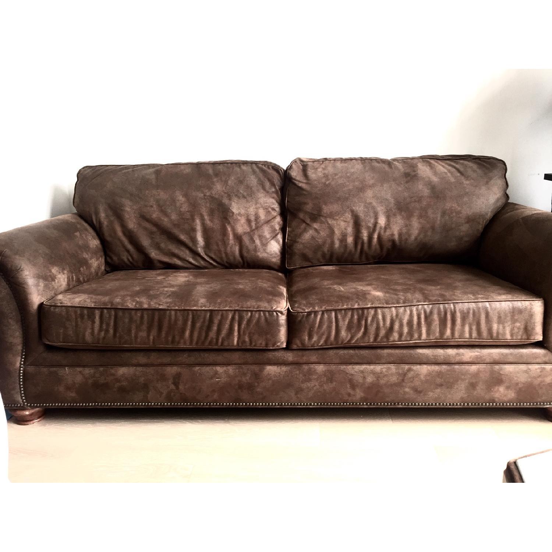 Loon Peak Aticus Microfiber Sleeper Sofa - image-2