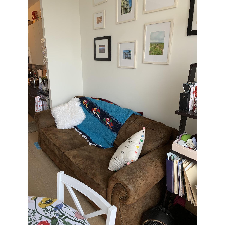 Loon Peak Aticus Microfiber Sleeper Sofa - image-3