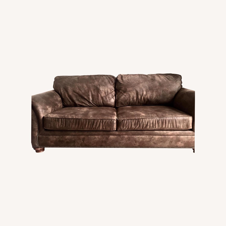 Loon Peak Aticus Microfiber Sleeper Sofa - image-0