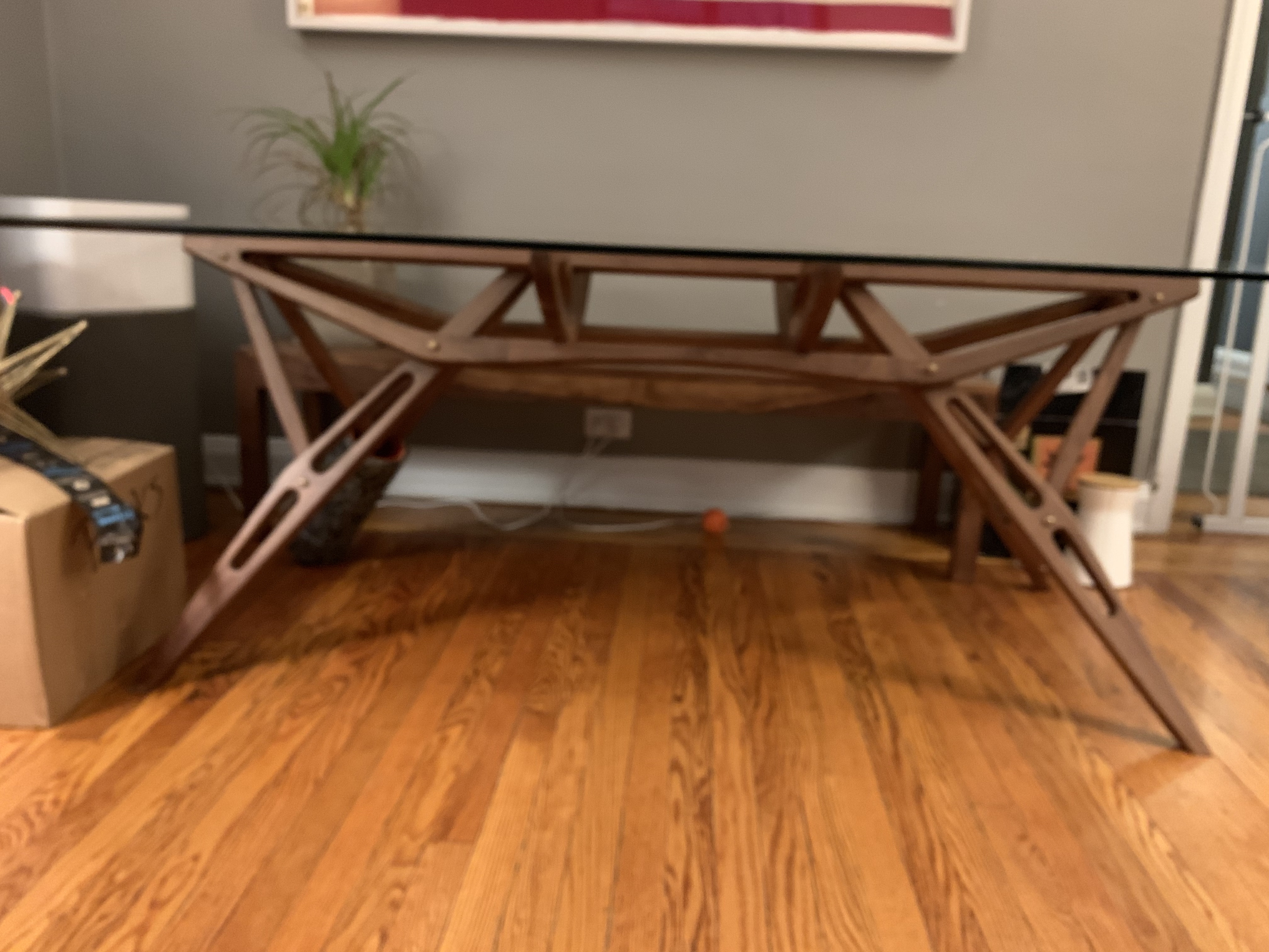 Organic Modernism Amsterdam Dining Table w/ 2 Chairs & Bench