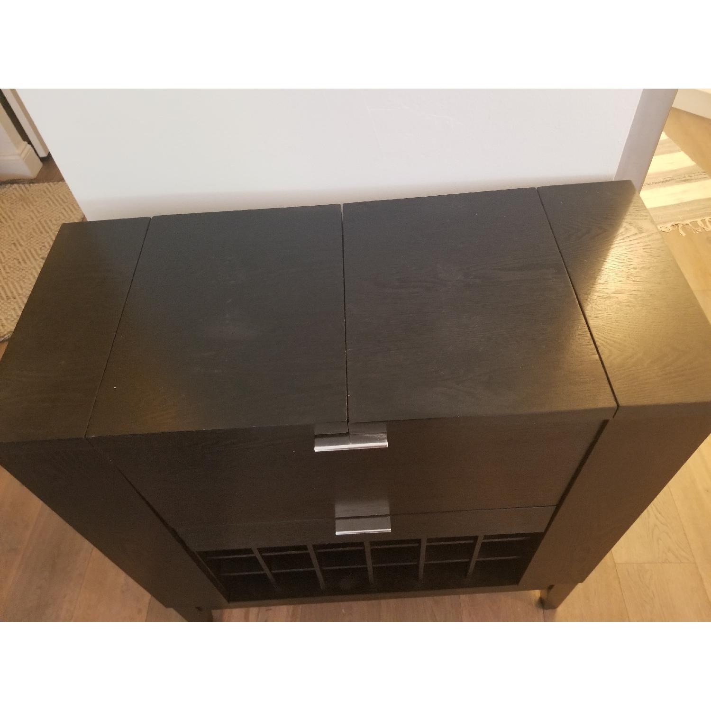Crate & Barrel Parker Spirit Bar Cabinet - image-8