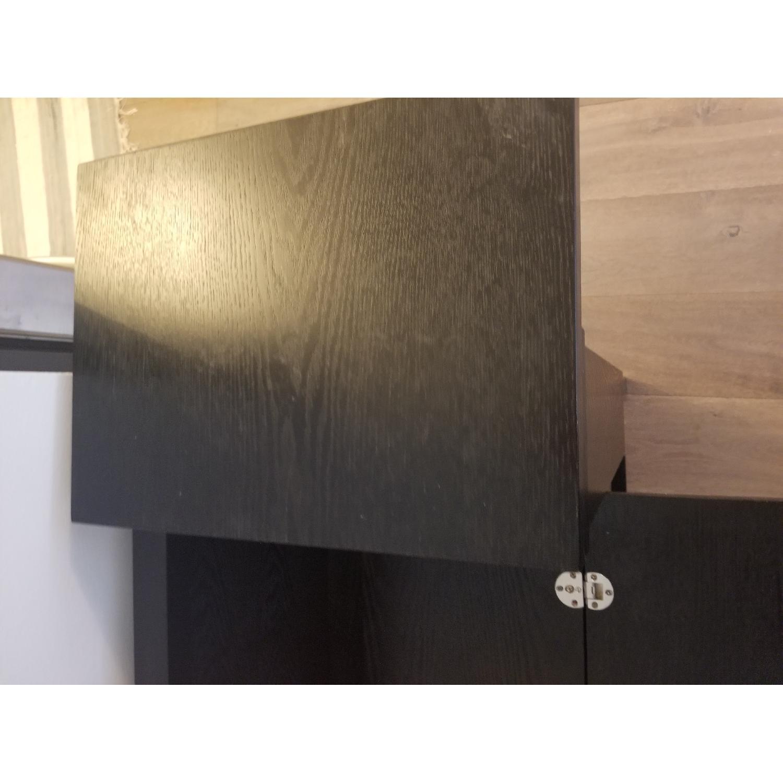 Crate & Barrel Parker Spirit Bar Cabinet - image-9