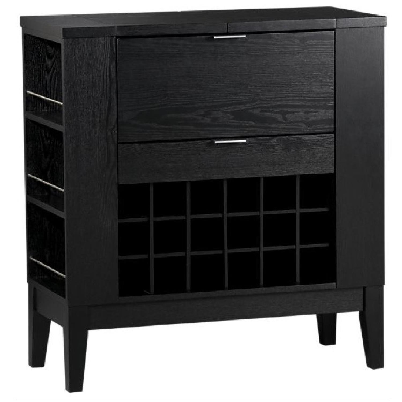 Crate & Barrel Parker Spirit Bar Cabinet - image-0