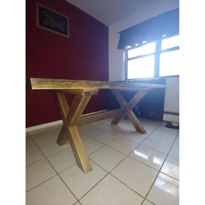 Bassett Wood Kitchen/Dining Table - image-5