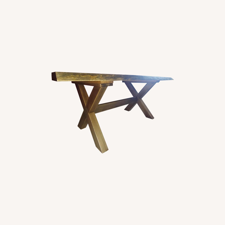 Bassett Wood Kitchen/Dining Table - image-0