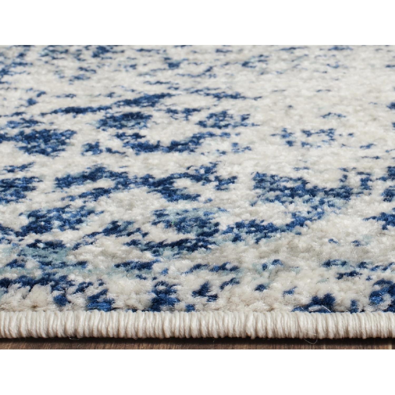 Safavieh Evoke Vintage Ivory/Blue Medallion Distressed Rug - image-2