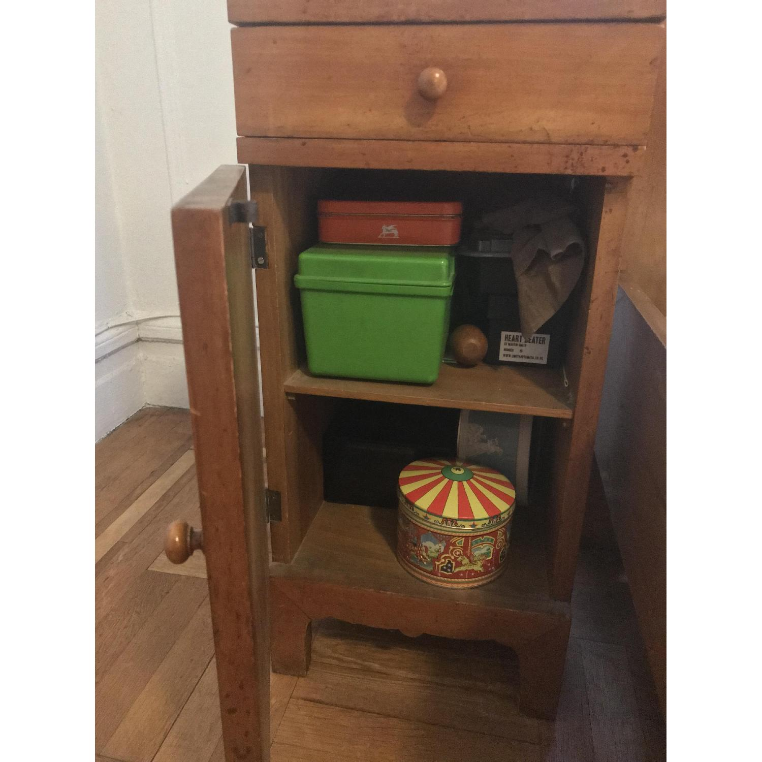 Early 20th C. Danish Pearwood Nightstands - image-2