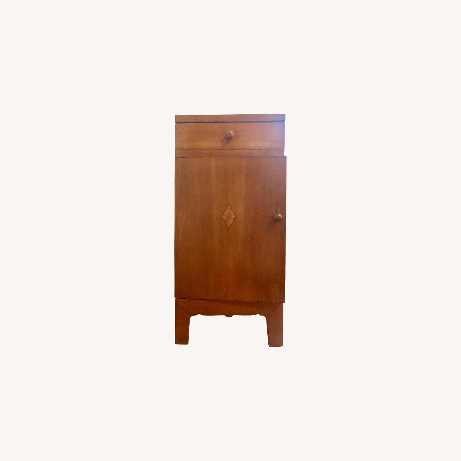 Early 20th C. Danish Pearwood Nightstands - image-0