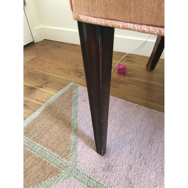 Vintage Rose Velvet & Brocade Lounge Chairs - image-6
